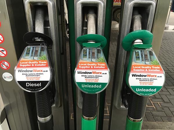 Windowworx Tesco Petrol Pump Campaign